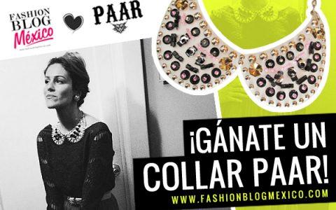 Sorteo Collar Paar de Fashion Blog Mexico