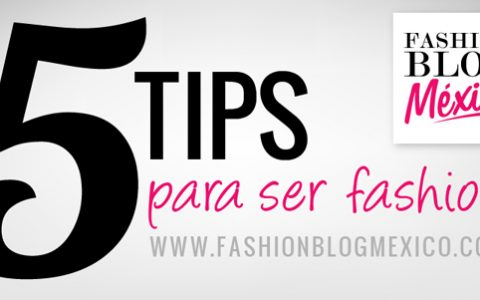 5 tips para ser fashion