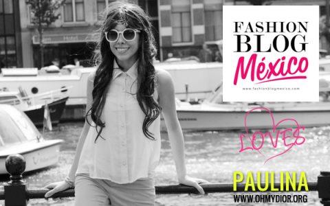 Paulina de Oh My Dior!