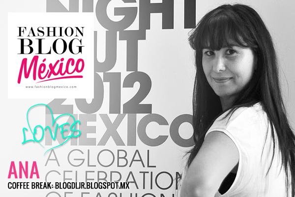Fashion Blogger: Ana de Coffee Break