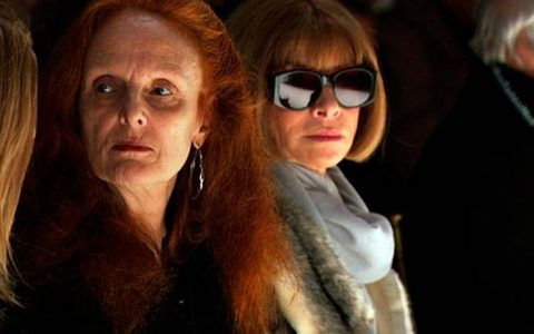 Grace Coddington con Anna Wintour