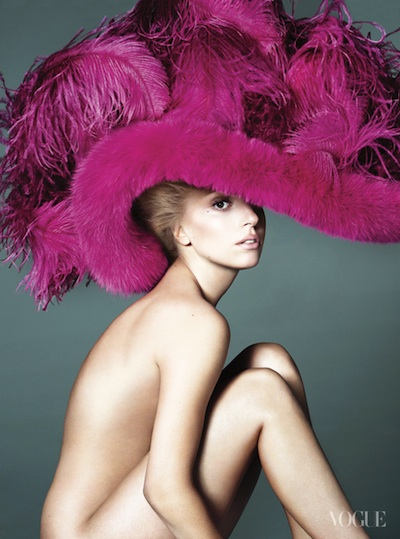 Foto de Lady Gaga para Vogue USA