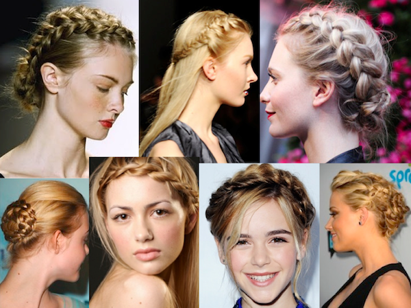 Peinados y estilos de trenzas