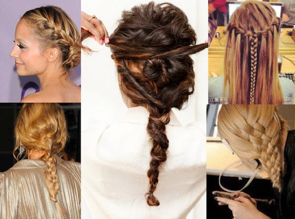 Peinados espectaculares con trenzas
