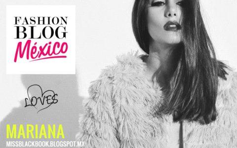 Fashion Blogger Mariana de Miss Black Book