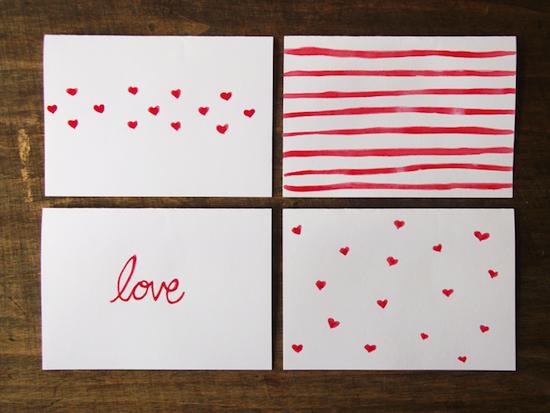 10 ideas de manualidades de moda para San Valentín