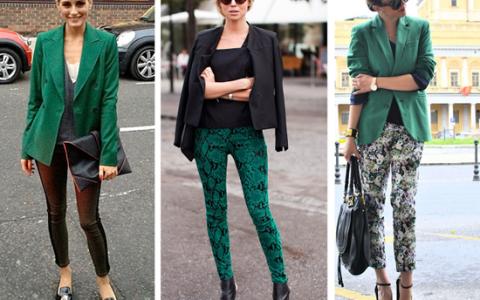 Tendencia: color verde esmeralda