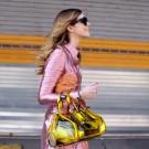 bolsa trasparente de moda