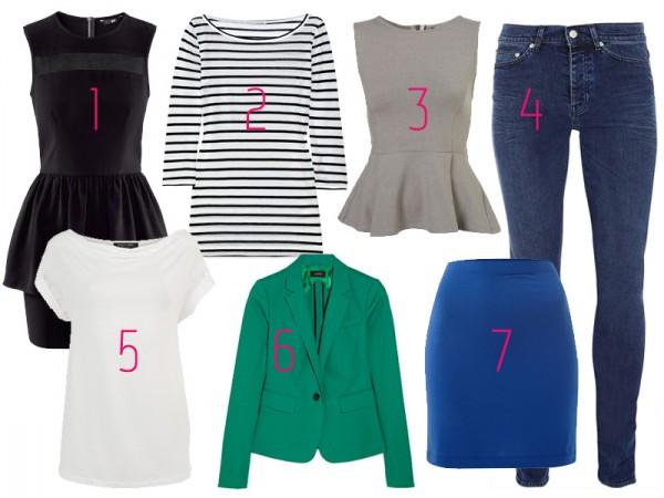 7 prendas y cómo combinarlas