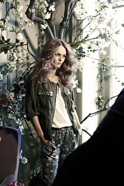 Vanessa Paradis para H&M conscious