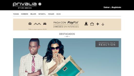 privalia tienda online
