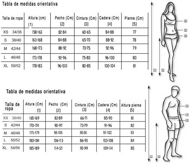 Al comprar ropa en línea, esto es aún más importante. En este sitio usted puede encontrar tallas de las mujeres para los tipos de ropa más relevantes. Ya sea S, M, L, XL o 38,40,42 – hay diferentes métodos para definir los tamaños de pantalones, blusas, camisas o chaquetas de las mujeres.