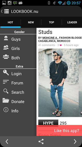 The best lookbook app Our lookbook app is the best way to present designer fashion collections and clothing lines. It's also the ideal way for fashionistas and aspiring models to show off their style.