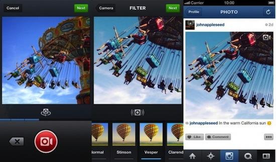 Video en instagram