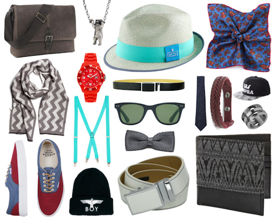 Carteras, sombreros, mancuernillas, gorras y más productos de hombres