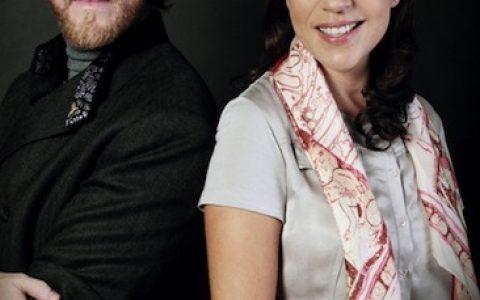 Cristina Pineda y Ricardo Covalín