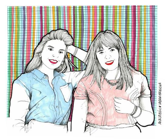 Ilustración de Fashion Blog México