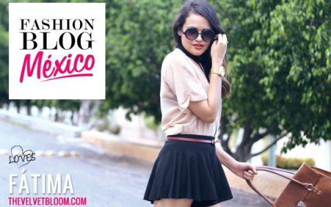 Fashion Blogger Mexicana: Fátima de The Velvet Bloom