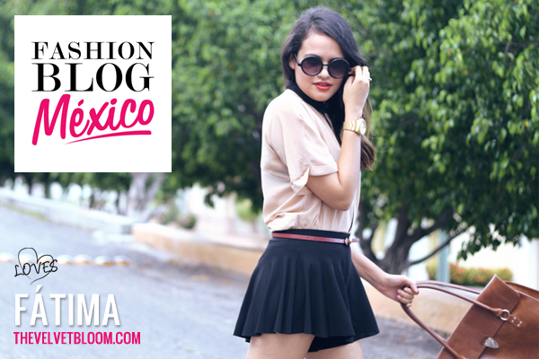 Fashion Blogger Mexicana: Fátima de The Velvet Bloom