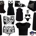 Cómo usar ropa negra en el verano