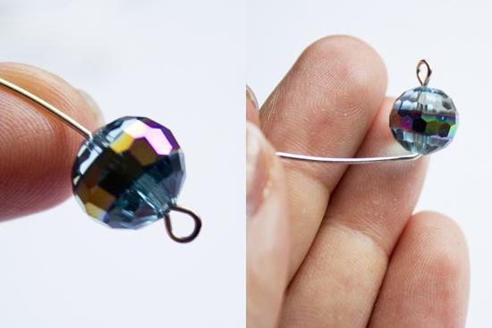 como hacer pulseras de cristal