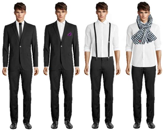 Look formal de hombre