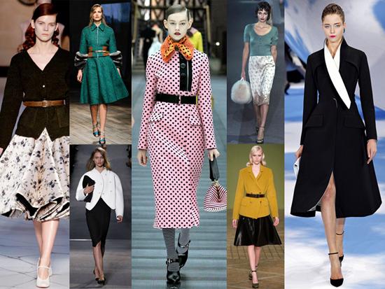 Moda de los 50's