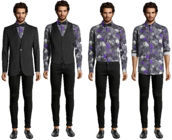 Ropa para hombres a la moda