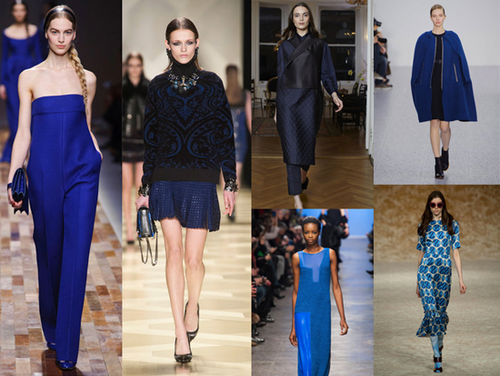 Tendencia color azul