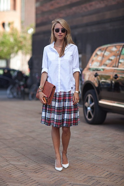 como usar una camisa blanca