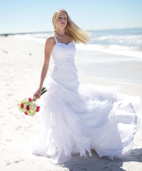 Vestidos de novia playa mexico