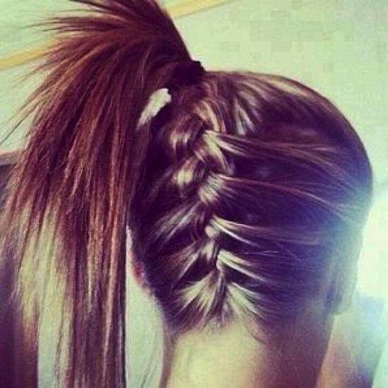 coole frisuren für lange dicke haare