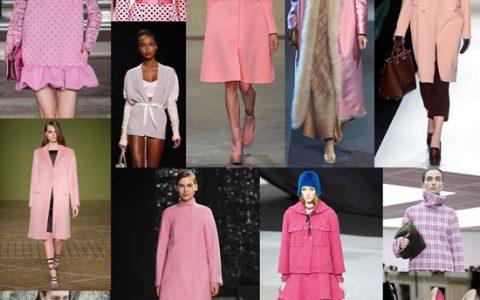 tendencia color rosa