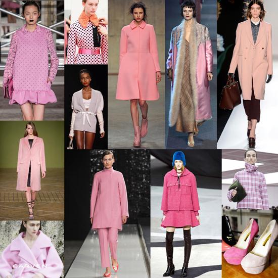 Tendencia oto o e invierno en rosa pastel - Colores que combinan con rosa ...