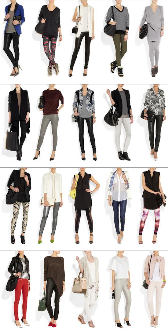Fashion Blog Mexico   Foto de 20 Ideas de como usar leggings