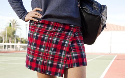 Cómo hacer una falda sin costuras
