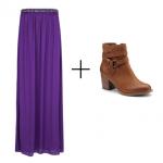 Cómo usar una falda larga sin sentirte anticuada