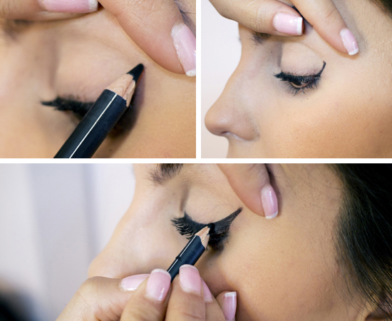 Delineado Cat Eye paso a paso