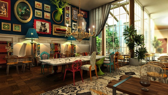 Qu es el estilo ecl ctico for Eclectic home designs