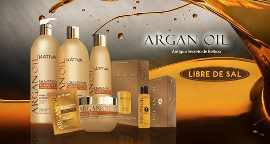Argan oil o aceite de argan KATIVA