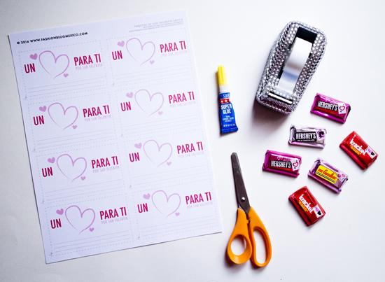 Tarjetas de San Valentín para imprimir ¡gratis!