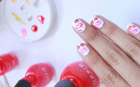 Uñas decoradas San Valentín