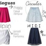 Tipos de faldas para chicas de tallas extra