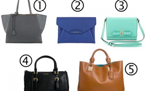 5 tipos de bolsos que toda mujer debe tener