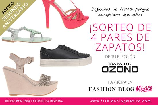 7c810be3 Sorteo de segundo aniversario: ¡4 Pares de zapatos Capa de Ozono!