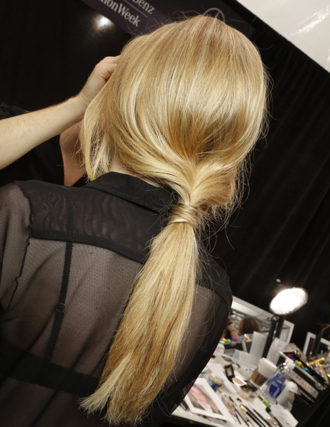 Tendencias en cabello 2014, coleta baja o ponytail