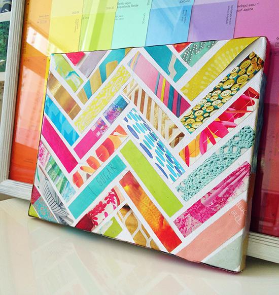 6 cosas que puedes hacer para reciclar tus revistas de moda - Colored paper art projects ...
