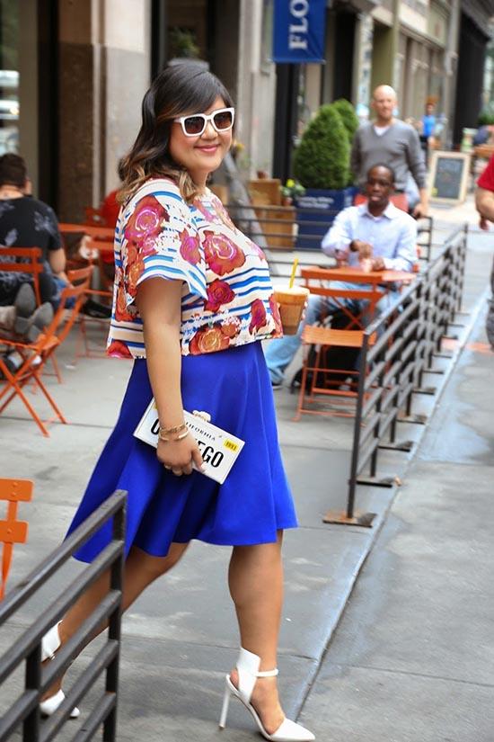 Reglas de moda para mujeres talla extra