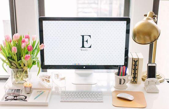 5 Elementos para hacer más glamoroso tu espacio de trabajo