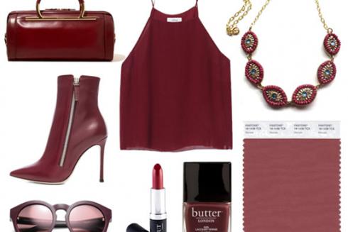 Marsala, el color Pantone del año y cómo usarlo